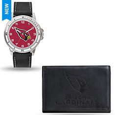 NFL Men's Watch and Wallet Set by Rico Industries