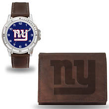 Men's NFL Niles Watch And Wallet Set By Rico Industries