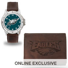 NFL Men's Niles Watch and Wallet Set