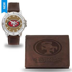 NFL Men's Niles Watch and Wallet Set