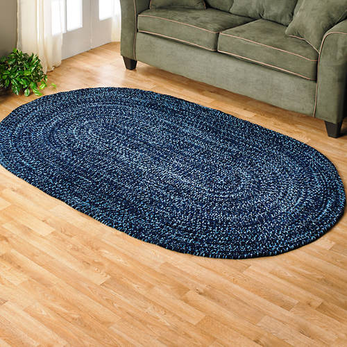 Chenille Reversible Braided Rug - 22 x 40