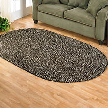 Chenille Reversible Braided Rug - Chestnut