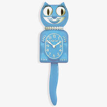 Kit-Cat Clock - Blue