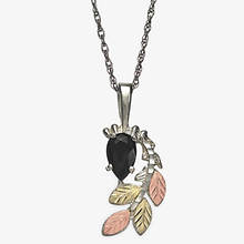 Black Hills Gold Black Onyx Pendant