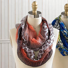 Animal Print Infinity Scarves - Bold & Beautiful