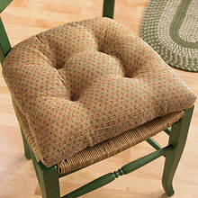 Raindrops Chair Cushions - Natural