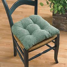 Raindrops Chair Cushions-Celadon