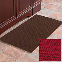 Anti-Fatigue Foam Kitchen Mat Rectangle-Burgundy