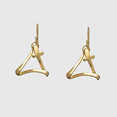 Cross of Trinity Earrings