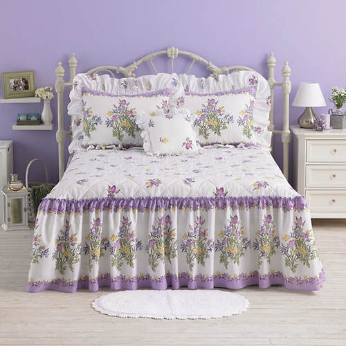 Iris Garden Bedspread