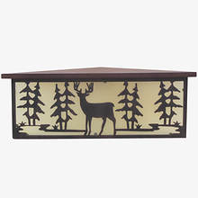 Corner LED Shelf with Remote - Deer