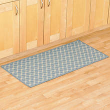 Diamond Utility Rug - Blue