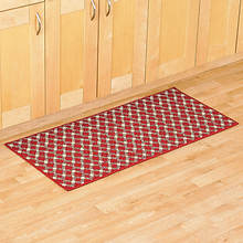 Diamond Utility Rug - Brick