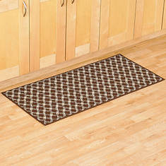 Diamond Utility Rug - Brown