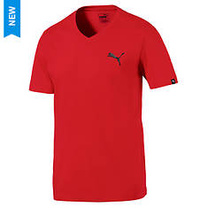 Puma Men's Iconic V-Neck Tee
