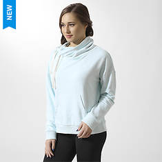 Reebok Women's Elements Marble Cowl Neck