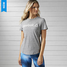 Reebok Women's Elements Prime Snow Melange Tee