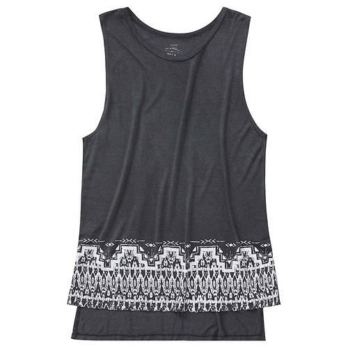 Billabong Women's Ikat border Knit Top