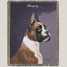 Personalized Dog Breed Tapestry Throw - Boxer