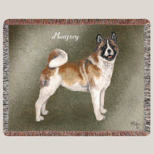 Personalized Dog Breed Tapestry Throw - Akita