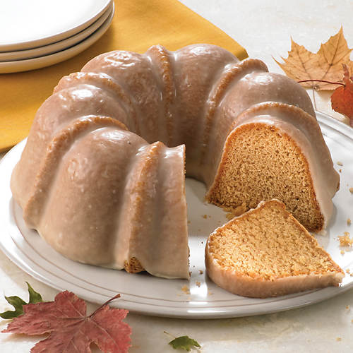 Maple Harvest Bundt Cake