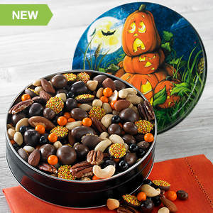 Hauntingly Delicious Snack Mix