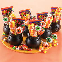 Candy Cauldron Halloween Treats