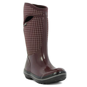 BOGS Plimsoll Houndstooth Tall (Women's)