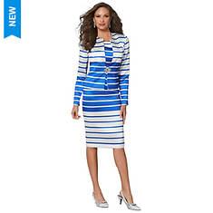 Stripe Suit Set