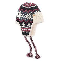MUK LUKS Women's Snowflake Nordic Trapper Hat