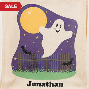 Personalized Halloween Goodie Bag- Ghost