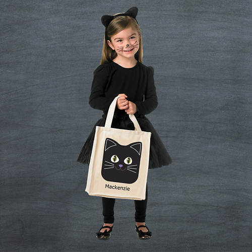 Personalized Halloween Goodie Bag