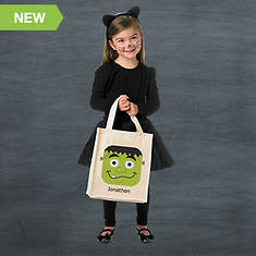 Personalized Halloween Goodie Bag- Frankenstein