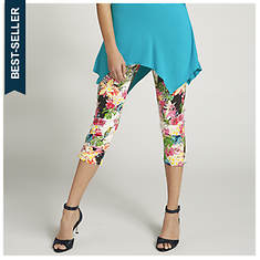 Leopard Tropical Capris