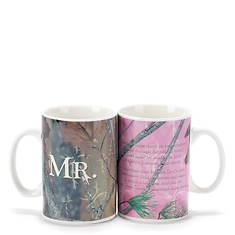 Mr. & Mrs. Camouflage Truth Hunter Mug Set