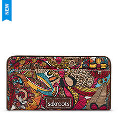 The Sakroots Artist Circle Slim Wallet
