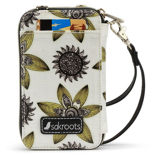 The Sakroots Artist Circle Smartphone Wristlet