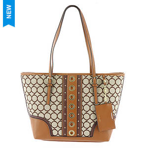 Nine West Ava 9S Jacquard Tote Bag