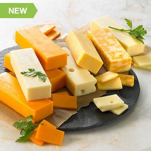 Natural Cheese Collection - Eight-Pack