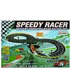 Golden Bright Speed Racer Road Racing Set
