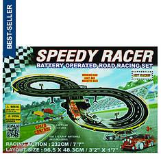 Golden Bright Speed Racer Road Racing Set