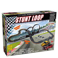 Golden Bright Stunt Loop Road Racing Set