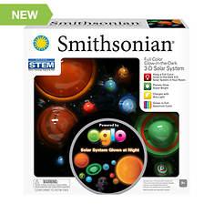 Smithsonian 3-D Solar System