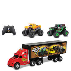 New Bright  R/C Monster Jam Hauler Set