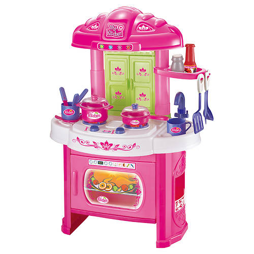 World tech 16pc glamor girlz kitchen set stoneberry for Kitchen set below 500