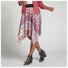 Handkerchief Stripe Skirt