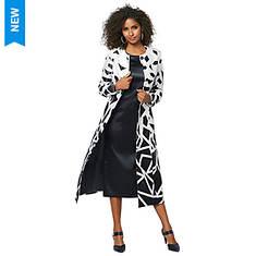Geometric Jacket Dress