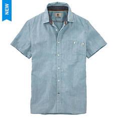 Timberland SS Mill River Cotton/Linen Chambray Shirt