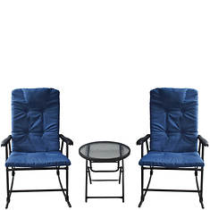 XL Crescent Rocker & Table Set