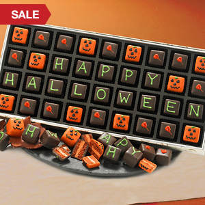 Halloween Greetings Petits Fours